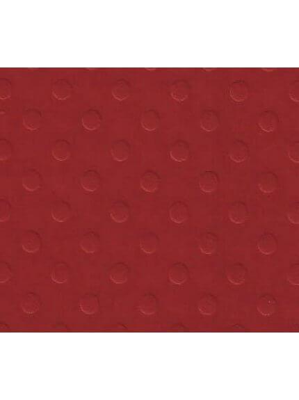 Folha para Scrapbook cardstock bolinhas vermelho