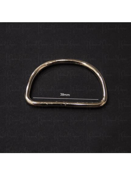 Meia Argola 38mm - Dourado